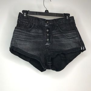Rag & bone jean Shorts 26 Blackhawk Button Fly